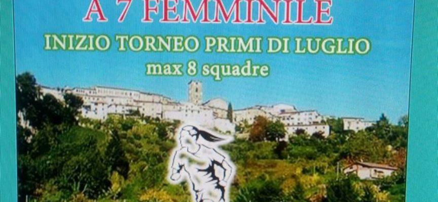 1° Trofeo di Calcio Femminile, a  Coreglia Antelminelli
