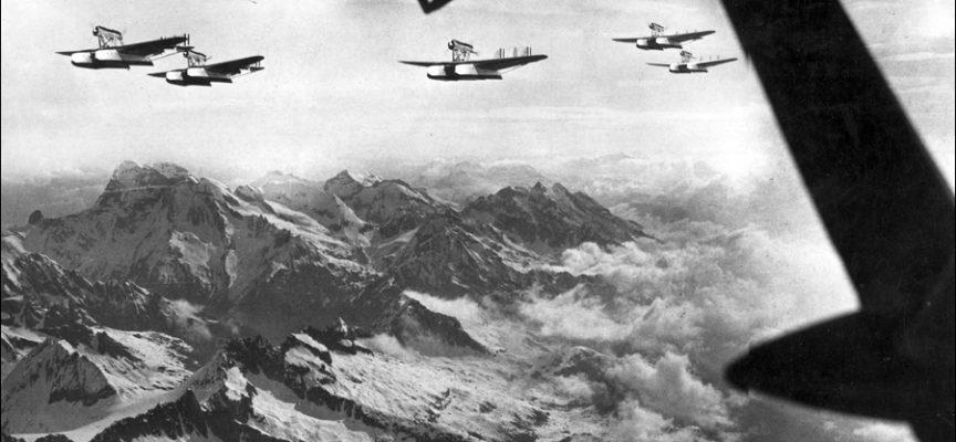 Accadde oggi,1 Luglio:  1933, partono gli Atlantici da Orbetello, con l'ultimo volo del lucchese Ten. Squaglia