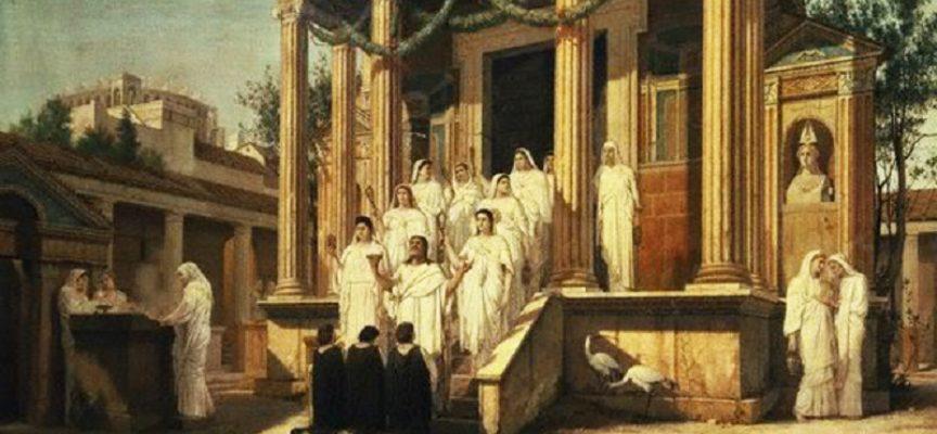 Nell'Antica Roma, 10 Giugno: Quarto giorno delle Vestalia, Il Tempio delle Vestali