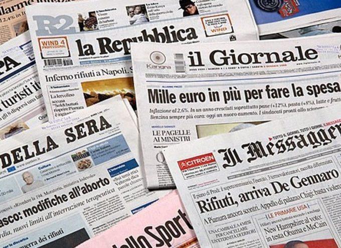 La CASTA dei GIORNALI in Italia