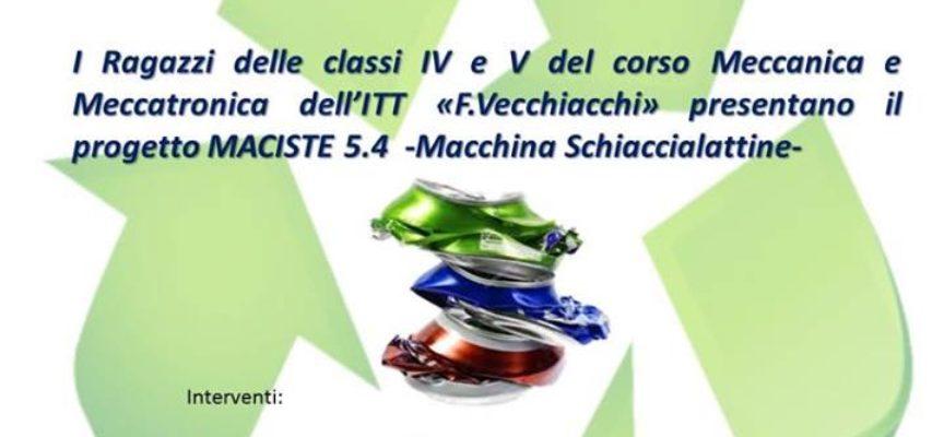 PRESENTAZIONE PROGETTO MACISTE 5.4