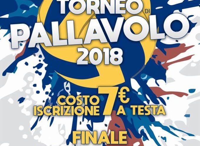 Torneo di Pallavolo 2018, a  Diecimo, di  Borgo a Mozzano