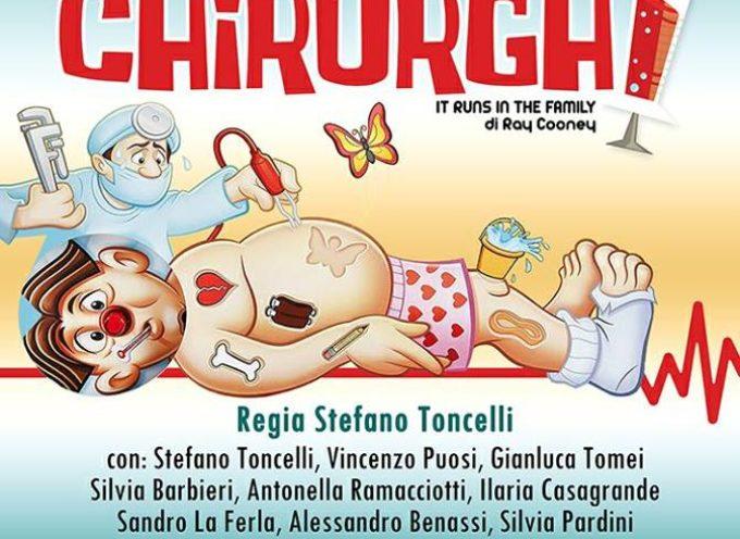 """""""Gli Allegri Chirurghi"""" vi aspettano questo venerdì 8 giugno al Teatro San Girolamo a Lucca!"""