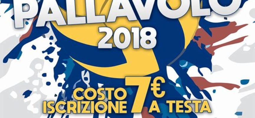 Inizia il Torneo di Pallavolo 2018, a  Diecimo, Borgo a Mozzano