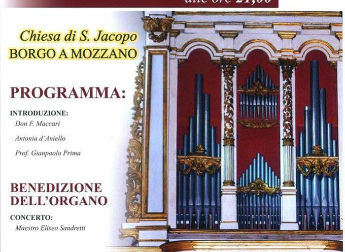 Inaugurazione dell'Organo Restaurato a  Borgo a Mozzano