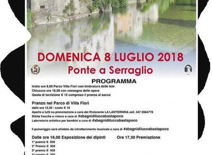 11° COLORI E SAPORI Concorso di pittura estemporanea a  Ponte a Serraglio