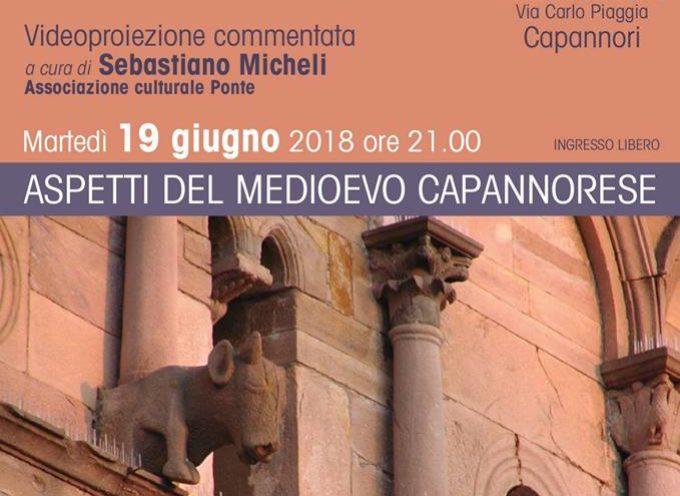 """""""Aspetti del medioevo capannorese"""".  martedi al museo athena"""