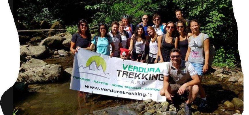 Trekking fluviale, A  Bagni di Lucca