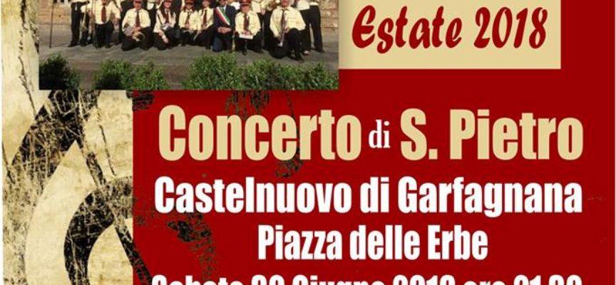 Torna il tradizionale concerto di S. Pietro.