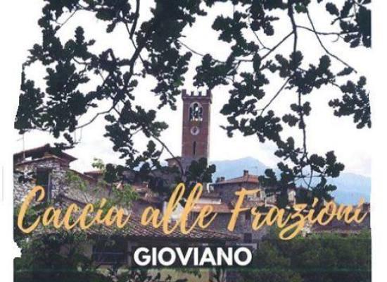 Caccia alle Frazioni.. Gioviano, Borgo a Mozzano