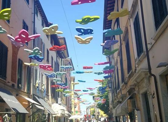 """Estate 2018, Via Mazzini sarà la via delle farfalle in omaggio a Valdés e alla sua opera """"Mariposas"""""""
