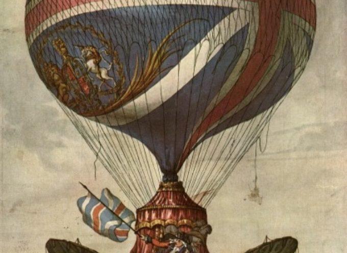 Accadde oggi, 4 Giugno 1783: il primo volo dei fratelli Montgolfier, pensando al lucchese Vincenzo Lunardi…