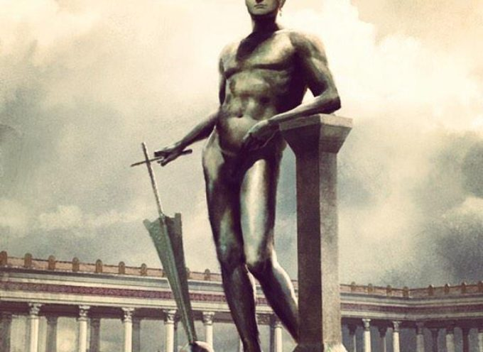 Nell'Antica Roma, 6 giugno: Incoronazione con ghirlande di fiori della statua di Nerone, alta 36 metri: un colosso! che perciò dette il nome al…Colosseo!