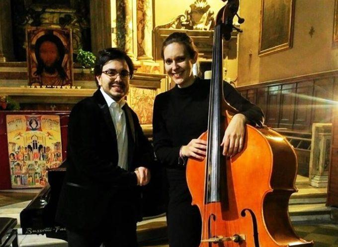 Concerto per contrabbasso e pianoforte alla casermetta San Pietro