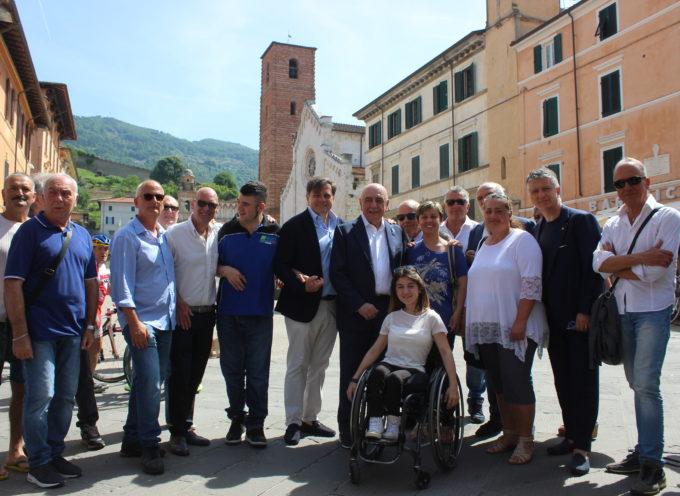 Galliani a sostegno di Giovannetti, sono qui per amore e rispetto della città.