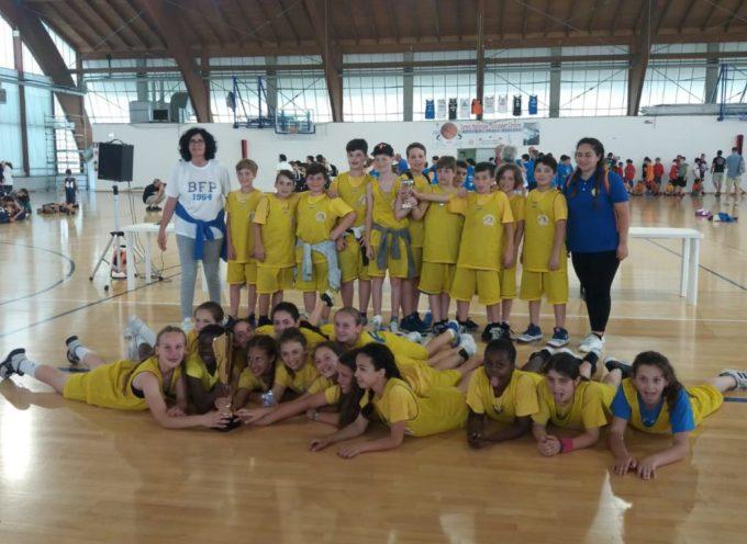 Finale di stagione col botto per le ragazze della squadra Esordienti del Basket Femminile Porcari.