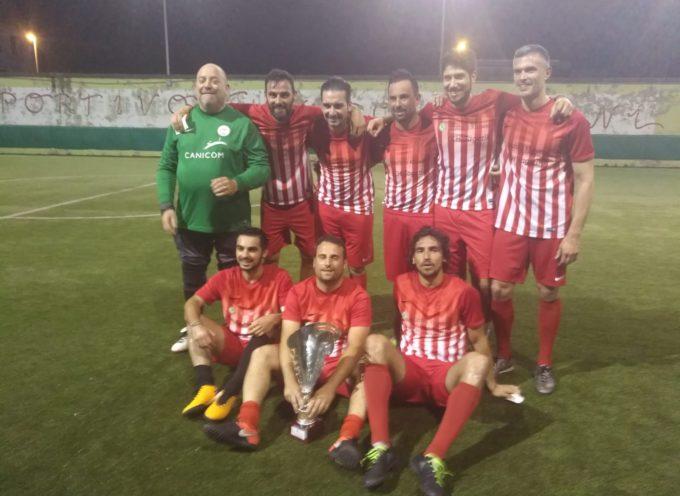 Tagetik  vince il campionato provinciale di calcio a 7 dilettanti  serie A Aics del Centro Sportivo Vignini