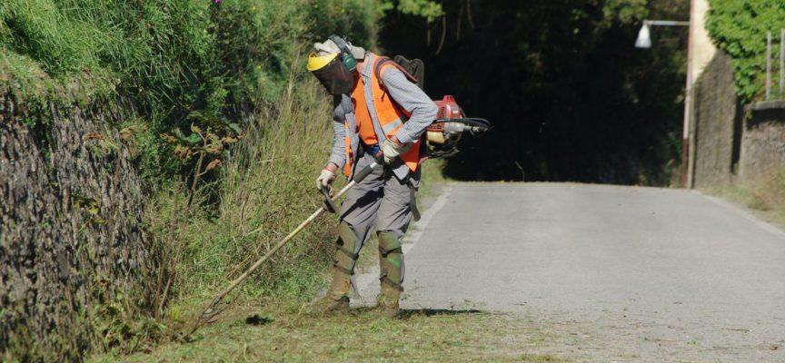 COREGLIA: Al via gli interventi per il taglio dell'erba