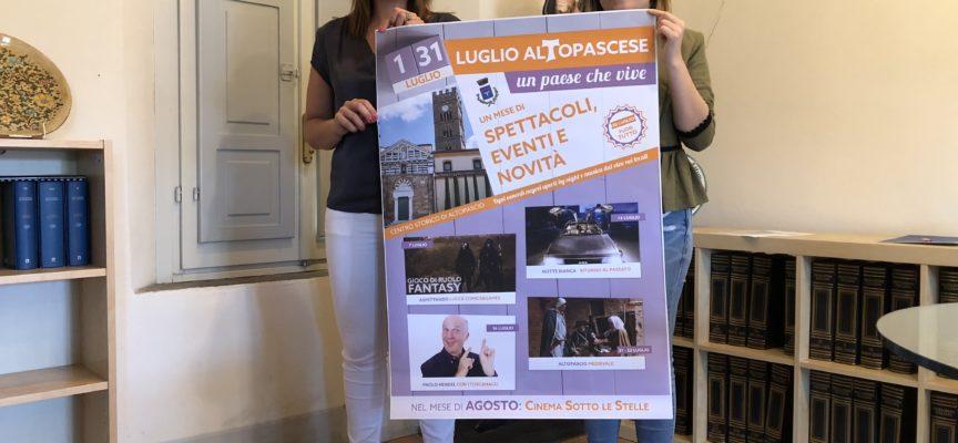 LUGLIO ALTOPASCESE, UN PAESE IN FESTA