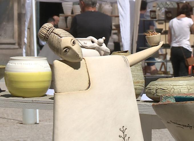 La festa della ceramica in piazza Grande