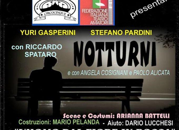 """Teatro Comunale """"Idelfonso Nieri"""" di Ponte a Moriano, va in scena notturni, l'uomo dal fiore in bocca"""