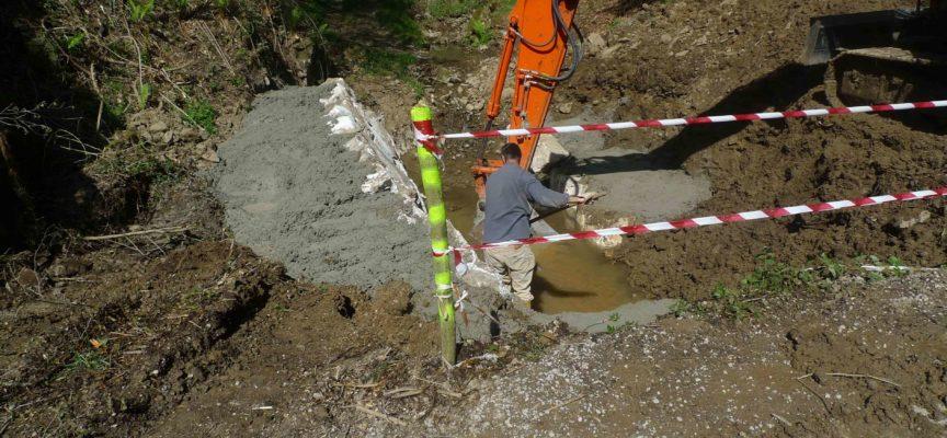 Continuano gli interventi del Consorzio sul Fosso delle Sponde a Chiozza