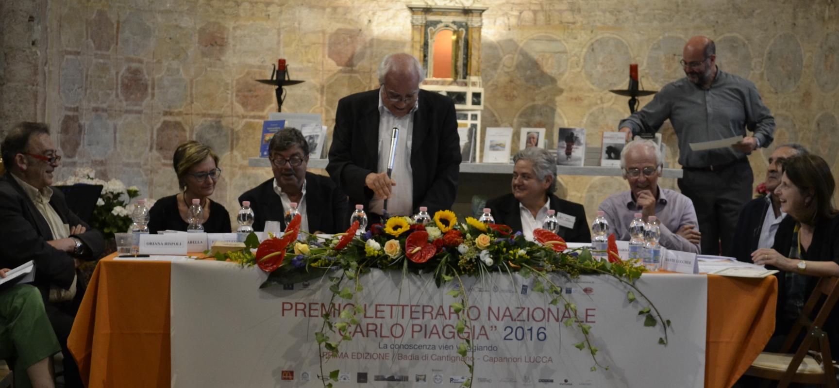 """nella chiesa di Badia di Cantignano alle ore 16 la cerimonia di premiazione del Premio Letterario Nazionale """"Carlo Piaggia"""""""