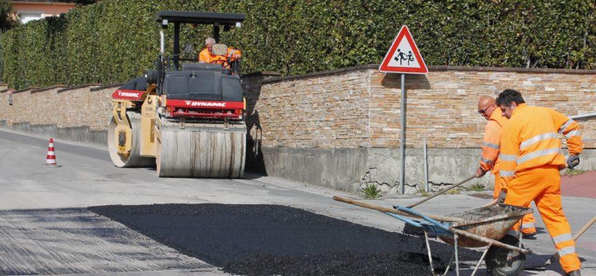 CAPANNORI – IN ESTATE NUOVE ASFALTATURE SULLE STRADE COMUNALI: INVESTIMENTO DA 450 MILA EURO