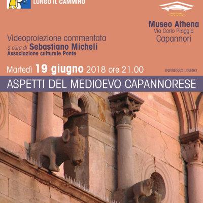 Al MUSEO ATHENA SI PARLA DEL MEDIOEVO CAPANNORESE