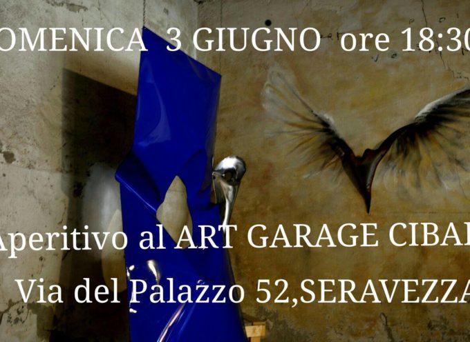 CIBART ART GARAGE CON APERITIVO