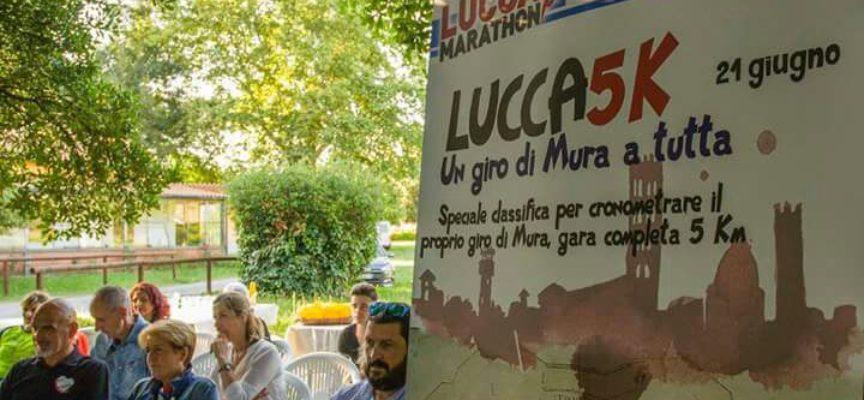 Tutto pronto per la Lucca 5K