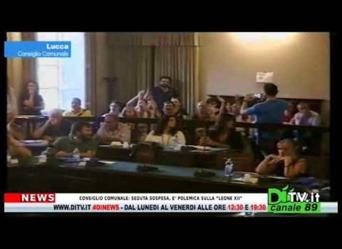 """Consiglio Comunale: seduta sospesa, è polemica sulla """"Leone XII"""""""