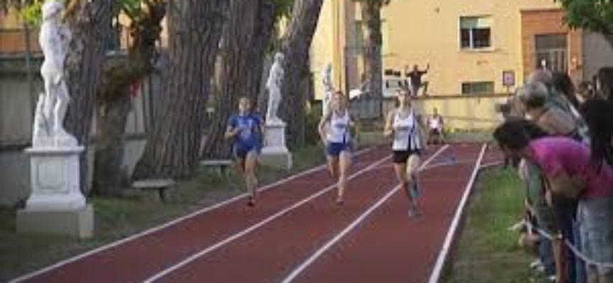 Inaugurata la pista di atletica del Campone, a fornaci