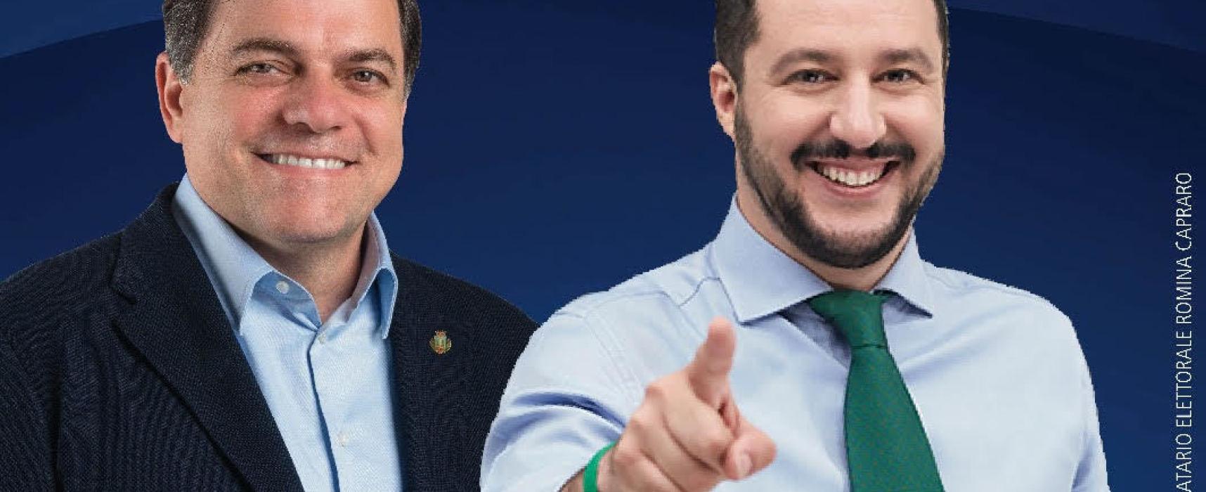 Il Ministro Matteo Salvini a Tonfano. Appuntamento venerdì 22 giugno alle ore 18.00 al Bar Margherita.