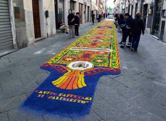 La magia dei tappeti di segatura