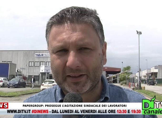 Papergroup: prosegue l'agitazione sindacale dei lavoratori – Intervista al sindacalista BIndocci