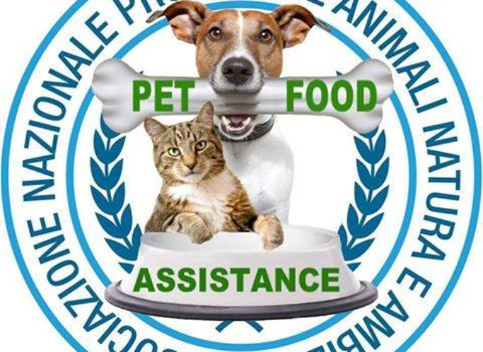 ANPANA E SUPERMERCATO SIGMA: ORGANIZZANO UNA  RACCOLTA CIBO PER ANIMALI DI FAMIGLIE IN DIFFICOLTA'
