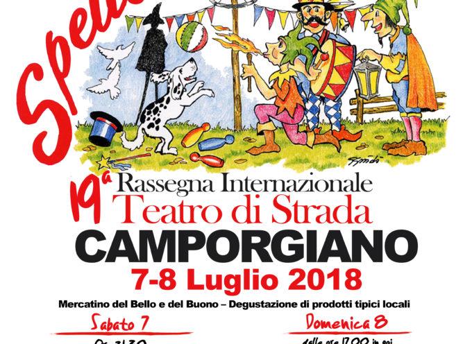 Spettacolando- rassegna internazionale di teatro di strada – Camporgiano 7/8 luglio 2018