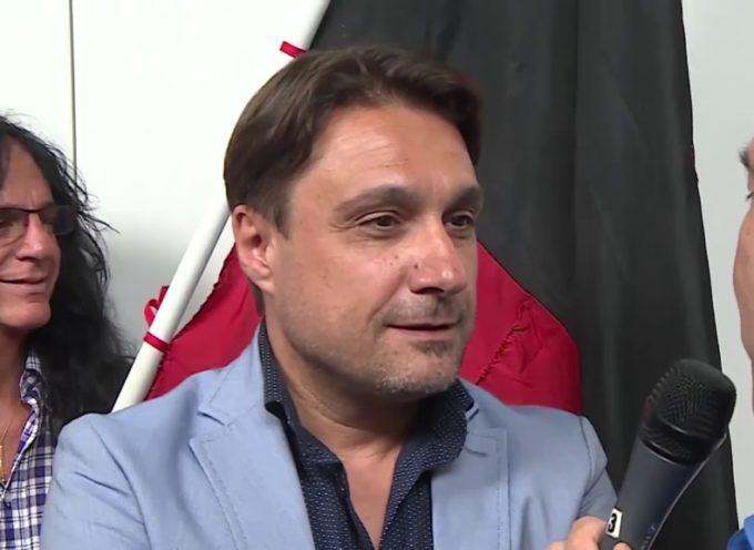 Il presidente della Lucchese Lorenzo Grassini ospite giovedì a Curva Ovest