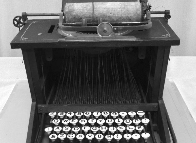 Accadde oggi, martedì 23 giugno: 1868, viene brevettata la prima macchina da scrivere