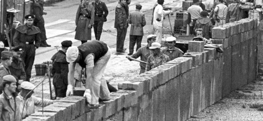 Accadde oggi, 13 Agosto: 1961, si costruisce il Muro di Berlino