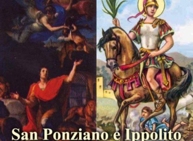 Il Santo del giorno, 13 Agosto: S. Ippolito e S. Ponziano, primo Papa ed Antipapa