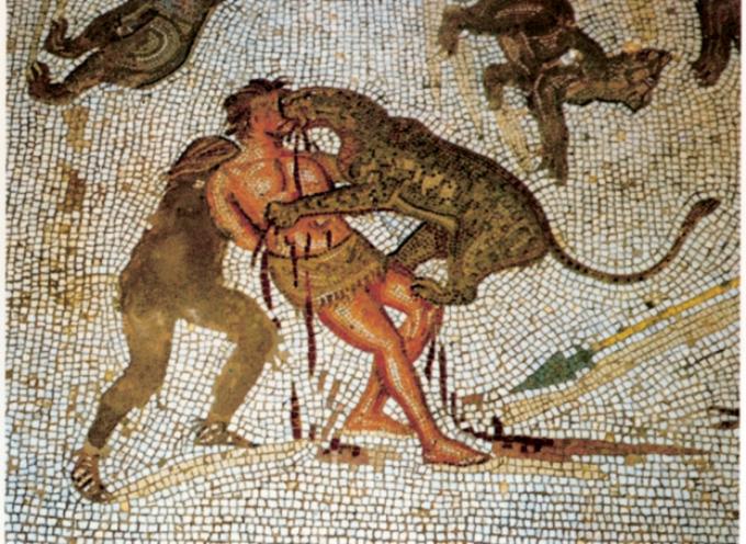 Nell'Antica Roma, 15-20 Luglio, i tardi Ludi Francici, con il gradevole spettacoli dei Barbari fatti mangiare dagli acculturati Romani dai leoni!!
