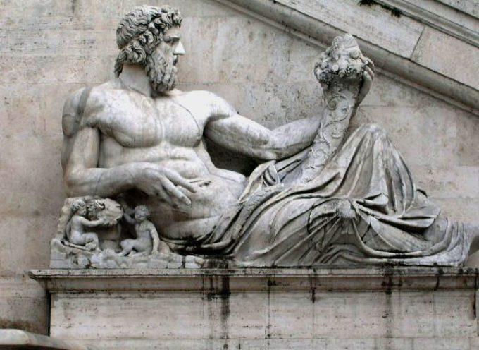Nell'Antica Roma, 17 Agosto Festa di Portunalia o Tiberinalia, in onore di Portuno, Dio dei porti e delle porte