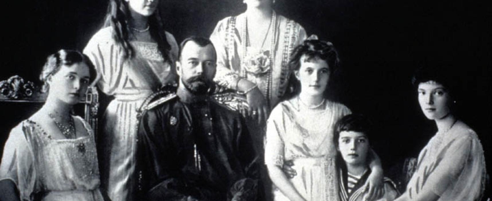 Accadde oggi, 17 Luglio: 1918, i Bolscevichi trucidano tutta la Famiglia dello Zar Nicola II di Russia