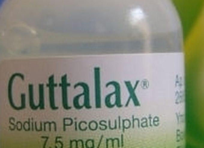 """Lassativo """"GUTTALAX"""": nuovo ritiro dalle farmacie."""