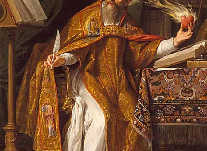 Il Santo del giorno, 28 Agosto, S. Agostino, Dottore della Grazia,