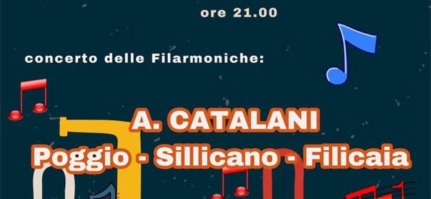 Concerto Bandistico, A SILLICAGNANA , SABATO 7 LUGLIO