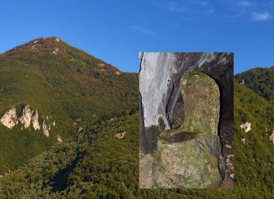 ESCURSIONE AL Monte Gabberi e grotta del Tanaccio con il suo trono del Papa