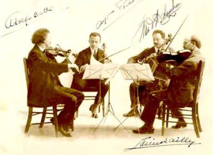 Concerto di musiche per quartetto d'archi al Casinò municipale di Bagni di Lucca